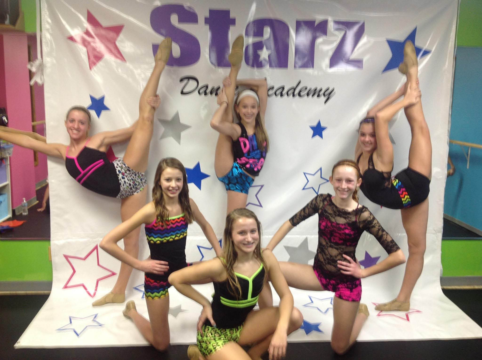 Starz Dance Academy in Muskego students