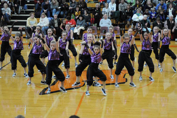 Starz Dance Academy performing in a area