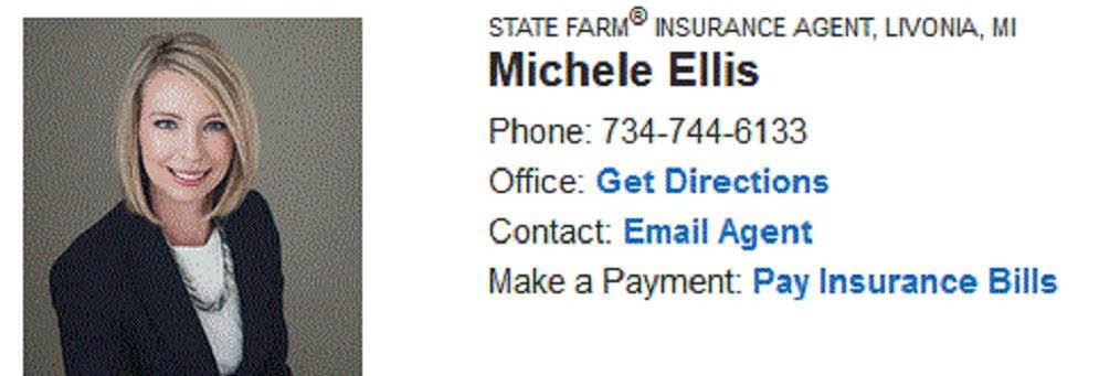 State Farm - Michele Ellis in Livonia banner