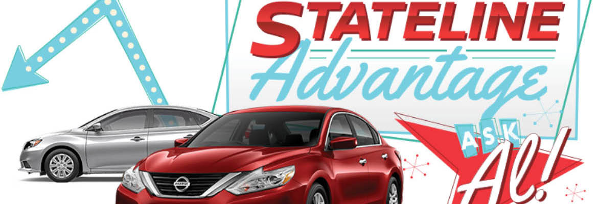 Stateline Nissan.  You'll save more on Route 44.   New and Used vehicles.