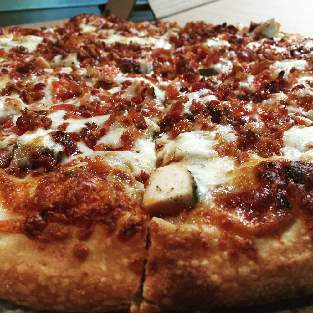 bbq chicken speciality pizza