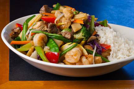 Stir fry near Maryland Heights