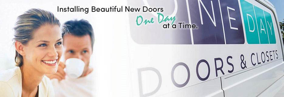 One Day Doors & Closets in Chesterfield, MO Banner ad