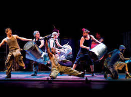 A scene from Stomp New York