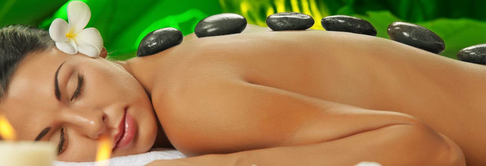 Receive a full body massage at Four Season & Spa located in Dyer, IN.