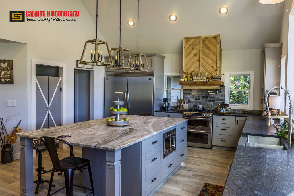 new kitchen cabinets; bathroom cabinetry; countertops in Kennesaw, GA