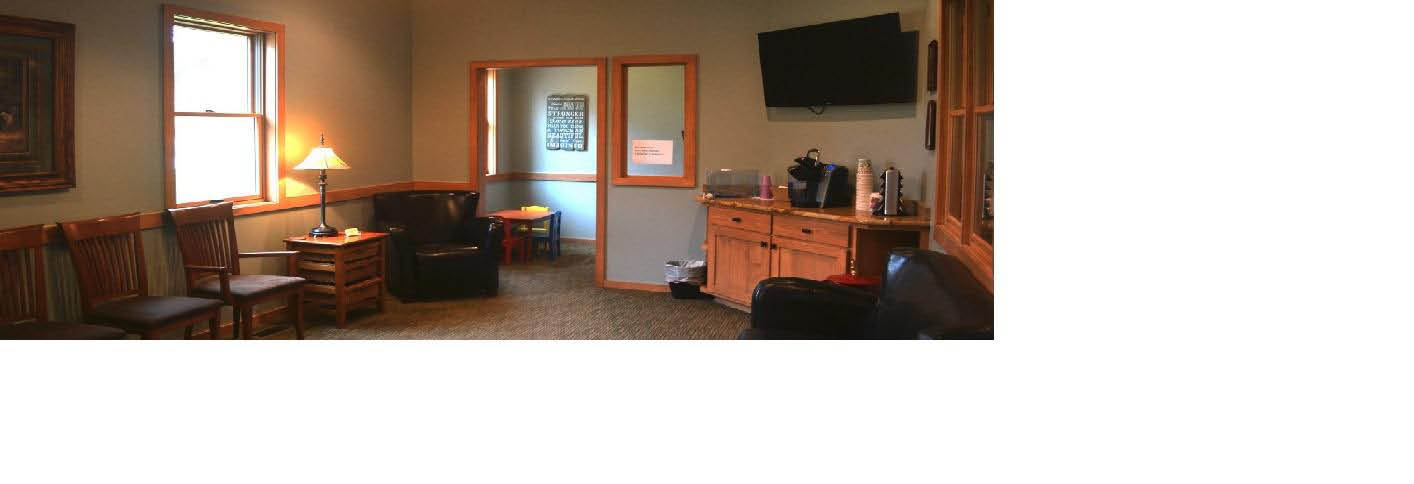 photo of interior waiting room of Stonehouse Family Dental in Ortonville, MI