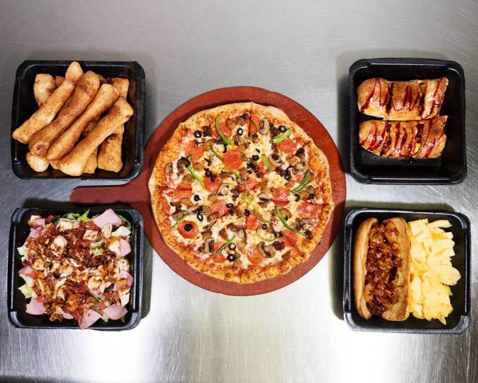 stoners pizza joint menu sampling