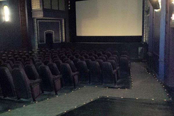 Strand Theatre historic movie experience