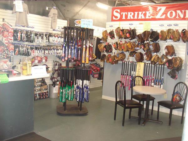 The Strike Zone pro shop