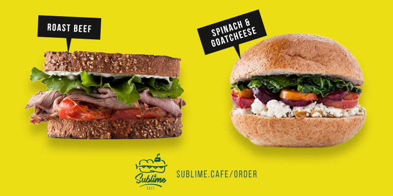 Sublime Cafe Coupons, Sub Sandwich coupons, Sandwich  Shop coupons.