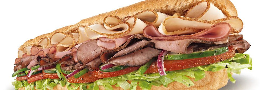 Subway club is your made to order healthy sub sandwich restaurant banner.