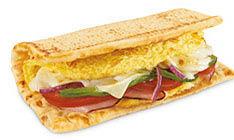 Subway Black Forest Ham, Egg & Cheese