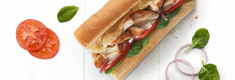 Subway sandwiches and salads in Nipomo CA banner