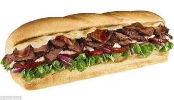 Subway sandwiches near Callender, Oceano