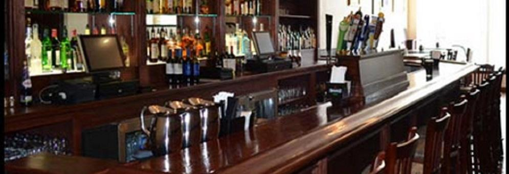 Bar at Sullivan's Public House in Oxford