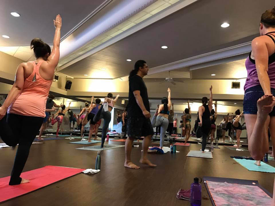 yoga, hot yoga, vinyasa, flow, yin nidra, classes; colleyville, tx