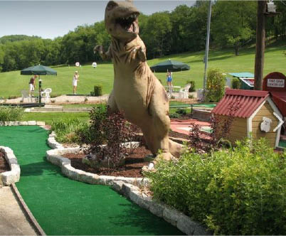 Miniature golf provides entertainment and recreational adventures for family and friends of all ages. Whether you're in it for the fun obstacles