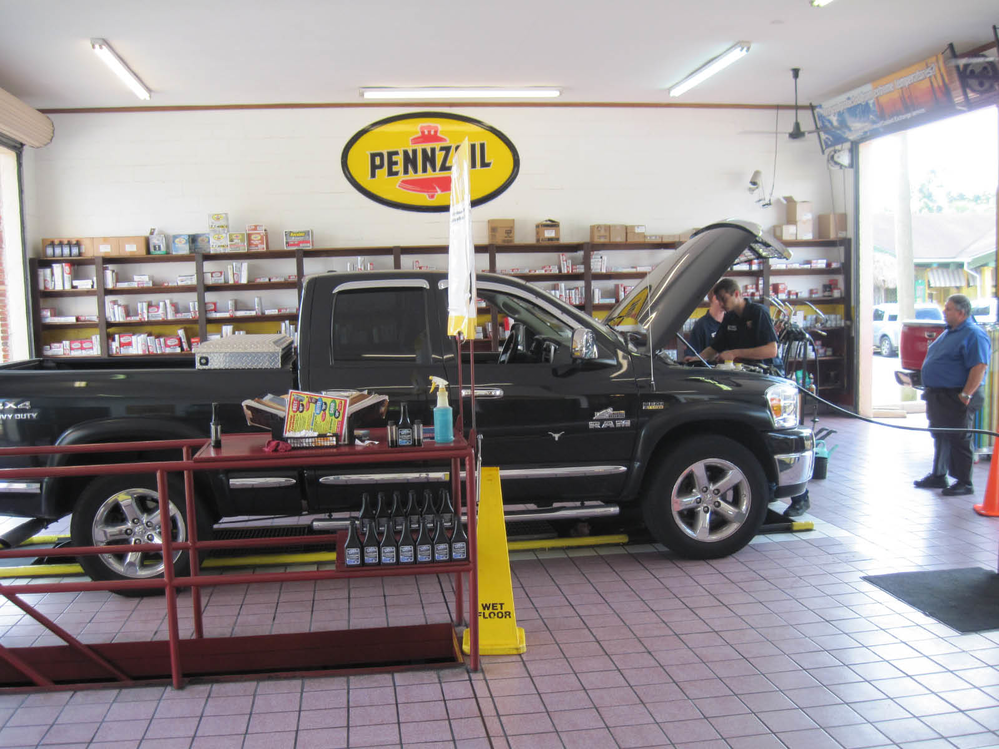 Super-Lube uses the best synthetic oil for our oil change service