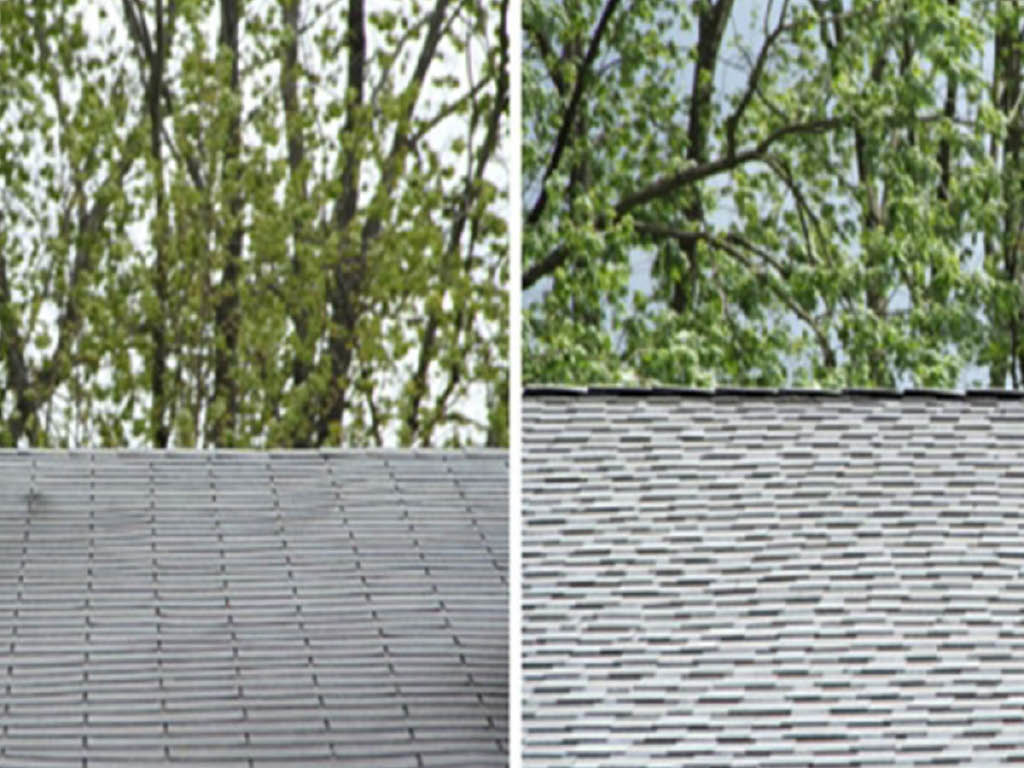 Superior Home Improvement before and after roofing