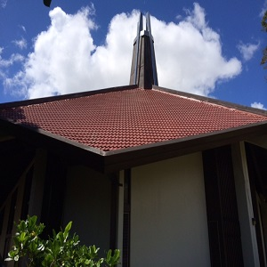 Finished product new roof near Hawaii Kai