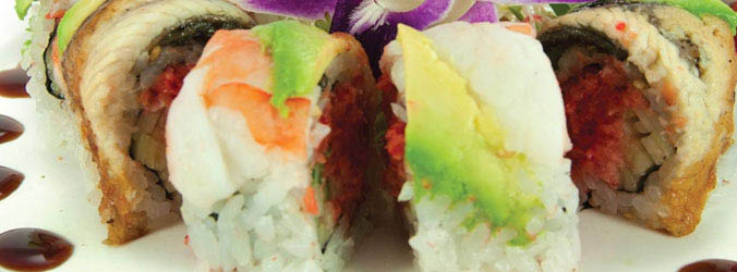 Get sushi and other Japanese food in Midtown Manhattan