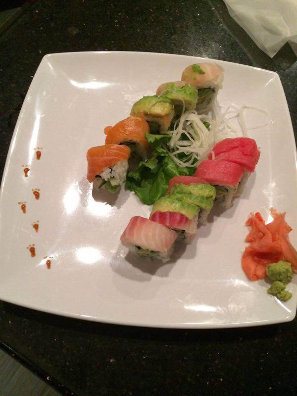 Sushi served fres near Fulshear