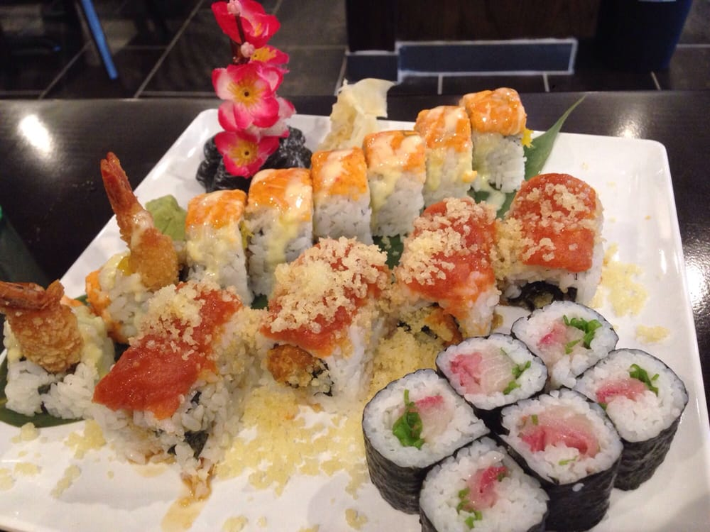 sushi, buffet, restaurant, hibachi, all you can eat; fredericksburg, va
