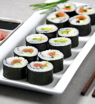 Deliciously fresh sushi rolls from Sushiology