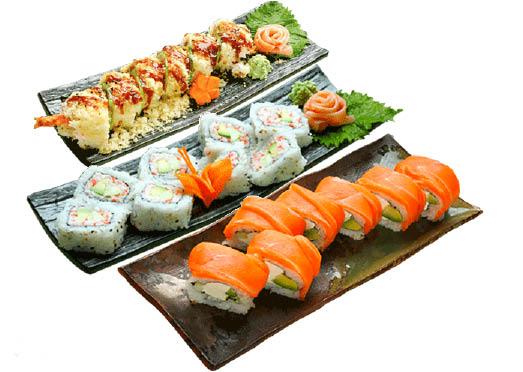 Yogis Grill Chandler AZ, Sushi Roll