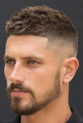Haircut and beard style