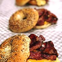 Delicious Swartz Bagel With Smoked Meats near Omaha