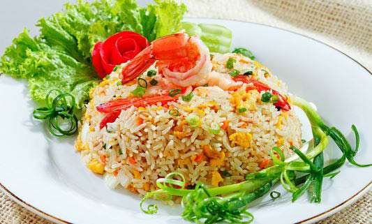 thai food, rice, shrimp located in Falls Church, VA