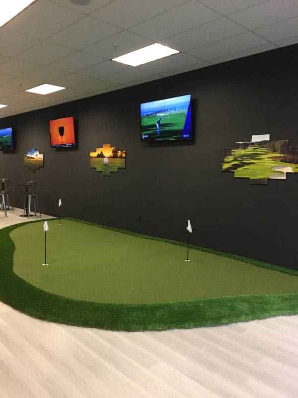 best golf instructors, fun, indoor activity, family friendly, family fun, putting, putting green