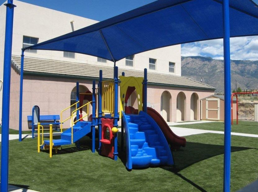 Children can play of softer SYNlawn