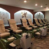 Stylist by Nails Pedicure Station