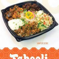 tabooli Mediterranean fast food lansing bowls