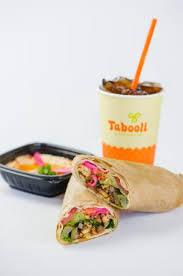 tabooli Mediterranean fast food lansing wraps