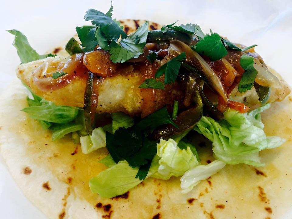 Crispy Fish Taco at Taco Tech in Birmingham, Alabama, Mexican Restaurant