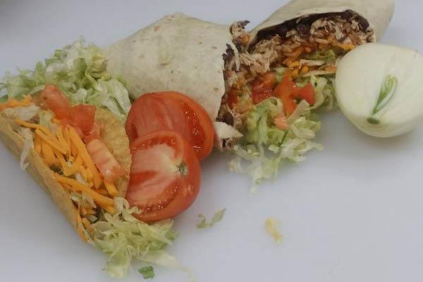 Talitas Southwest Cafe burrito