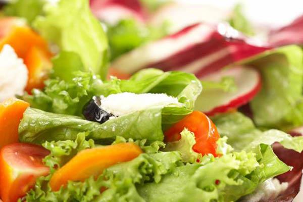 Taranto's Pizza healthy salad menu