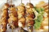 Chicken kabob at Taste of India