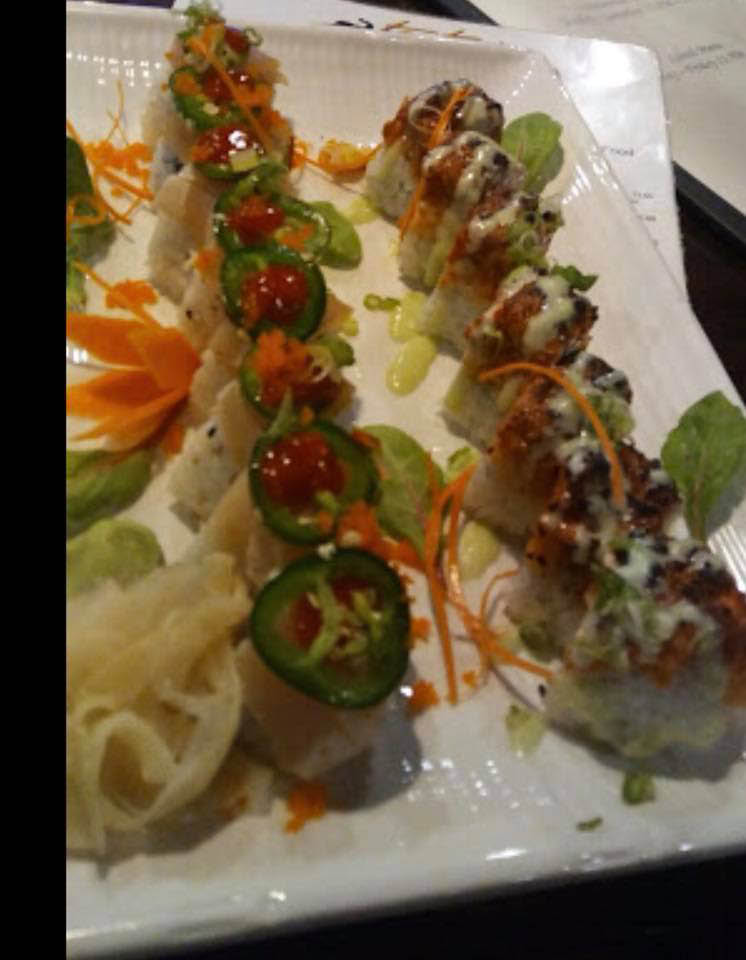 Fresh raw or cooked sushi rolls hand made by our sushi chef
