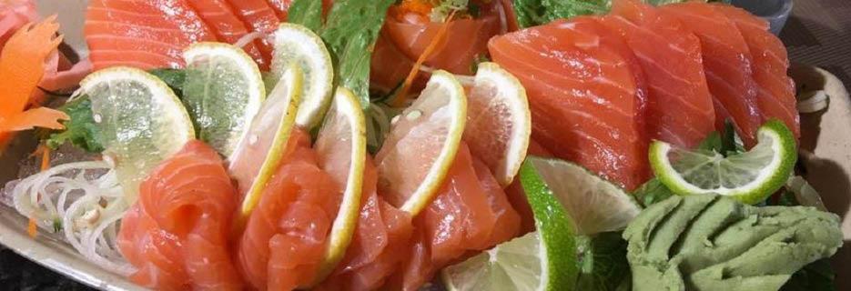 Tasty Thai & Sushi sashimi platter banner