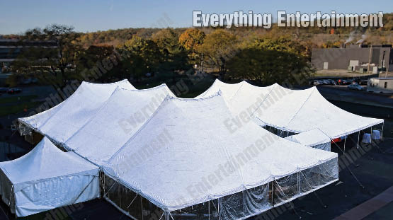 Tension tents, high top tent, large event tent, tenting, event tent rental, frame tents, marquees, clear top tents, tent lights, temporary flooring, everything events, staten island tents, ny event planning