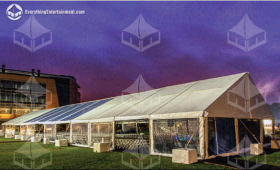 Tent rental, enclosed tenting, hard tent, event tent rental, frame tents, marquees, clear top tents, tent lights, temporary flooring, everything events, staten island tents, ny event planning