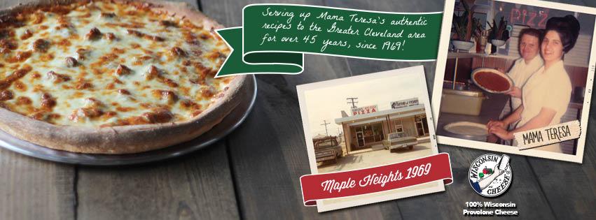 teresas pizza advertisement