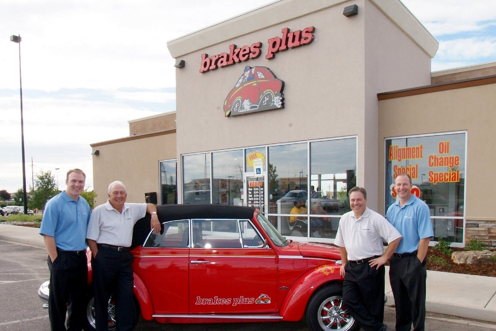 Family owned and operated Brakes Plus storefront