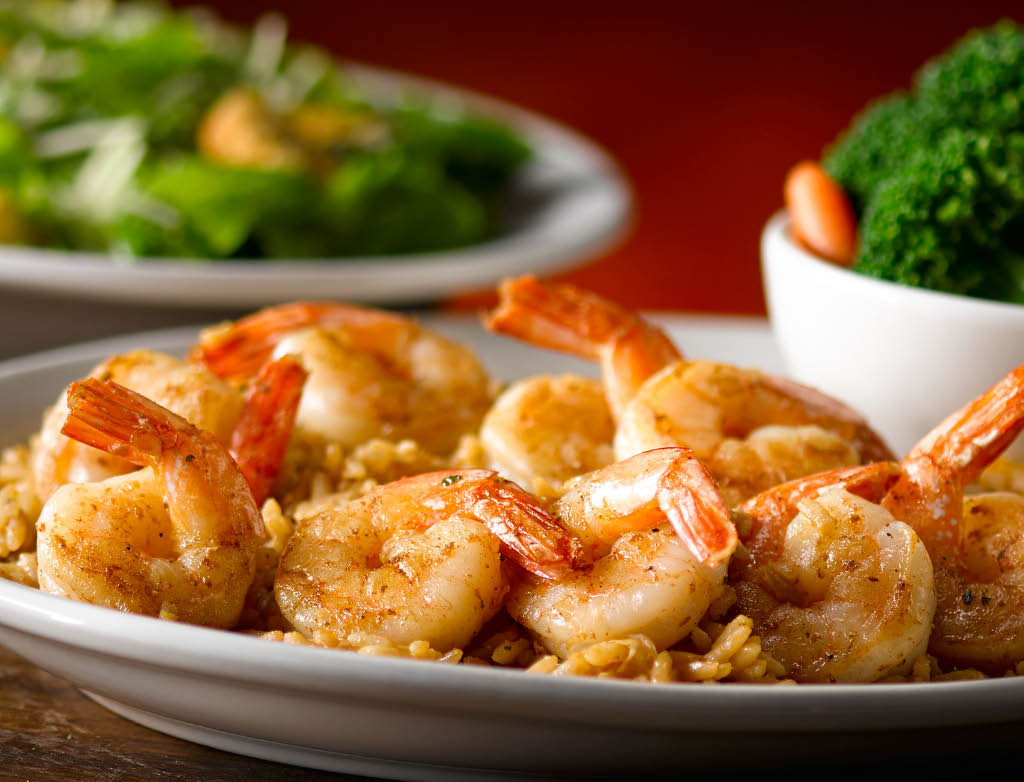 Texas Roadhouse Grilled Shrimp Entree