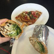 pizza and lunch wraps from TnF Pizza